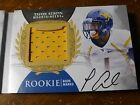 2013 UD EXQUISITE GENO SMITH TAVON AUSTIN #D 15 AUTO JERSEY PATCH WEST VIRGINIA