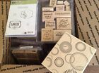 HuGe Stampin Up Lot 2 16 Sets New and Used