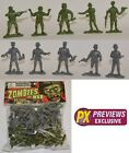 35 Zombies At War Plastic Army Men Figures