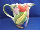 Fitz Floyd 56 oz Pitcher VEGETABLE GARDEN Sculpted Vegetables 8
