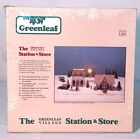 The Greenleaf Village Assembly Kit of STATION & STORE Wooden Buildings #8025 MIB