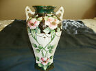 Vintage IE & C Co Hand Painted Japan Porcelain Vase  8