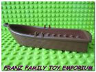 NEW Lego Red Brown ROW BOAT 14x5x2 (Dots) Pirate Ship Dingy 79013 7048 8802 7016