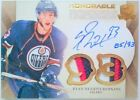 93 RYAN NUGENT HOPKINS HONORABLE JERSEY NUMBERS PATCH AUTO 2011 11 12 THE CUP
