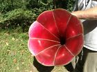 Edison Columbia Hawthorne  Sheble Red Cylinder Phonograph Horn