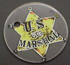 Maverick Pinball CoinOp Game Plastic Promotional Key Chain Piece