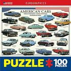 American Cars of the 50s Mini 100 Piece Puzzle
