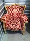 DRASTICALLY REDUCED VINTAGE FRENCH COUNTRY/PROVINCIAL ARMCHAIR