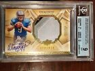 2009 Exquisite MATTHEW STAFFORD RC Patch Auto 68 99 BGS 9 with 10 Auto Rookie