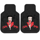 New Betty Boop Car Truck Floor Mats Steering Wheel Cover Seat Belt Covers