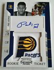 10-11 CONTENDERS PAUL GEORGE RC ROOKIE PATCH AUTO PACERS