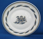 Butter Plates Richard Ginori Italy ORCHIDEA BLUE Gold Leaves Trim A++