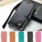 Luxury Leather Magnetic Flip Stand Wallet Case Cover For iPhone 8 7 6 6s Plus