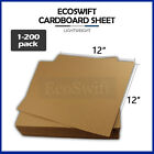 1 200 EcoSwift Chipboard Cardboard Craft Scrapbook Photo Pads Sheets 12 x 12