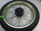 1985 Yamaha YZ490 YZ 490 YZ-490 MX Dirt Bike IT WR *963 FRONT WHEEL RIM TIRE