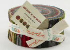 Because of the Brave American USA Patriotic Soldier Military Jelly Roll Fabric