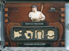 HONUS WAGNER 2010 Topps Sterling 4 Game Used Bat Pieces 3 25 From Rare Sterling
