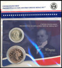 2 PCS 2010 James Buchanan Presidential 1 Coin  Spouse Liberty Head Medal Set