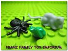 NEW Lego RAT/SPIDER/FROG Lot Harry Potter Halloween Pirate Castle Animal Minifgs