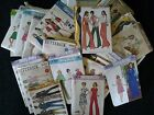 Vintage Women's Sewing Patterns  Lot of 40   1970's,1980's Variety of styles