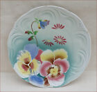 French Art Nouveau Decorative Plate Faience T Fenal Badonviller 1905