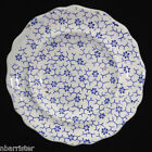 English Pearlware Child's Miniature Toy Dinner Plate  DAISY FLOWERS
