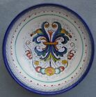 Italy Majolica DERUTA Hand Painted Vegetable Serving Bowl