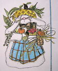 PATTERN quilt quilting primitive raggedy harvest bunny rabbit easter fall garden