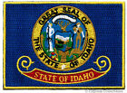 IDAHO STATE FLAG PATCH embroidered iron on EMBLEM ID applique emblem NEW BEST