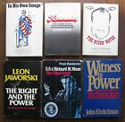 RICHARD NIXON 6 hardcover books with dust jackets 1970-1982; Crisis, Power, etc