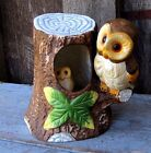 MOVING BABY OWL MUSIC BOX W SONG