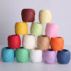 20m Raffia Paper Ribbon Decorating Flowers Gifts Crafts Scrapbooks 11Colors