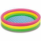 Intex Inflatable Sunset Glow Colorful Backyard Kids Play Pool  57422EP