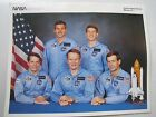 NASA Crew Space Shuttle mission 51 J 10x8 litho glossy print photo ATLANTIS 1st