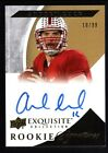 ANDREW LUCK 2012 UD EXQUISITE RC ROOKIE ON CARD AUTOGRAPH SP AUTO MINT #10 99