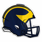 New NCAA Michigan Wolverines Premium 3 D Aluminum Helmet Sticker Decal Emblem