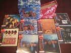 ROLLING STONES SATANIC MAJESTIES JAPAN OBI 8 Replica CD + COLLECTORS RARE OBI'S