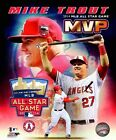 Mike Trout Los Angeles Angels 2014 MLB All Star Game MVP Photo (Select Size)
