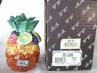 Fitz and Floyd Vintage Fruit Tango Stacking Salt and Pepper Shakers / New in Box