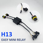 Hilo Bi-xenon Hid Easy Relay Harness For H4h139007 Bulbs Wiring Controller