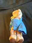 VINTAGE 1975 EDEN TOYS PADDINGTON BEAR DARKEST PERU TEDDY BEAR DOLL TOY
