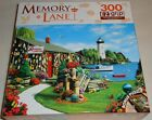 300 PIECE ROUND JIGSAW PUZZLE - LOBSTER BAY  ( LARGE PIECES )
