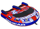 Airhead Shockwave 2 Double Rider Inflatable Boat Lake Towable Tube  AHSH 2