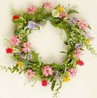 Country Primitive Summer Garden Mix Wreath 11