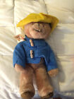 VINTAGE THE PADDINGTON BEAR DARKEST PERU TEDDY BEAR DOLL TOY