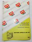 APRILIA RX MX 50 MOTOR AM 345 WORKSHOP MANUAL ENGINE MINARELLI BOOK 911
