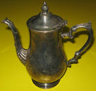Antique Victorian Silver Plate ?? Teapot / Coffee Pot  Unsigned