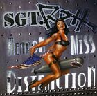 SGT ROXX - WEAPON OF MISS DISTRACTION NEW CD