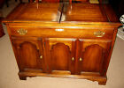 STATTON FURNITURE - FLIP TOP Solid Cherry Serving BAR - Colonial Style