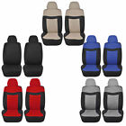 Elegant Low Back Van Front Seat Covers Polyester Universal 4pc